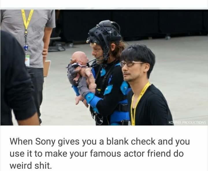 Damnit SONY. .. Kojima is Kojima. Damnit SONY Kojima is