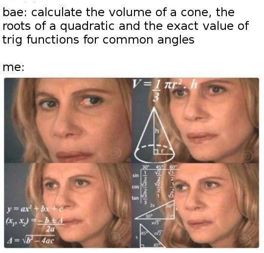 That's how you use math. .. This isn't a jojo meme, Maverick. That's how you use math This isn't a jojo meme Maverick