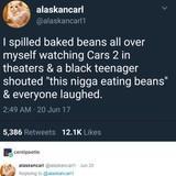 Do I go with a Spilling the beans joke or Spilling Spaghetti joke