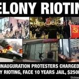 FELONY Rioting