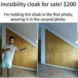 Cloak for sale