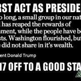 Trump confirms illuminati