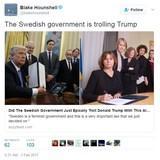 Swedish trolling