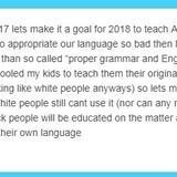 Teach broken English in school!
