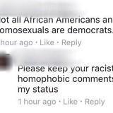 Oppressive Bigot Put in his Place