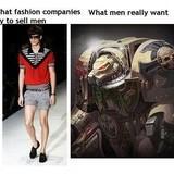 Terminator Armor is for men
