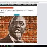 Kenya to build a wall!