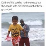 Dad humour