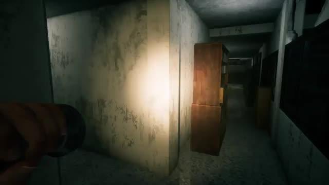 Bathroom. source: youtu.be/1j1NwfX13Ec?t=338.. that simultaneous scream