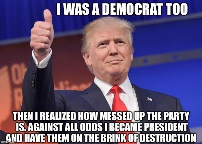 Dem. .. Tbh, he's a moderate republican. Dem Tbh he's a moderate republican