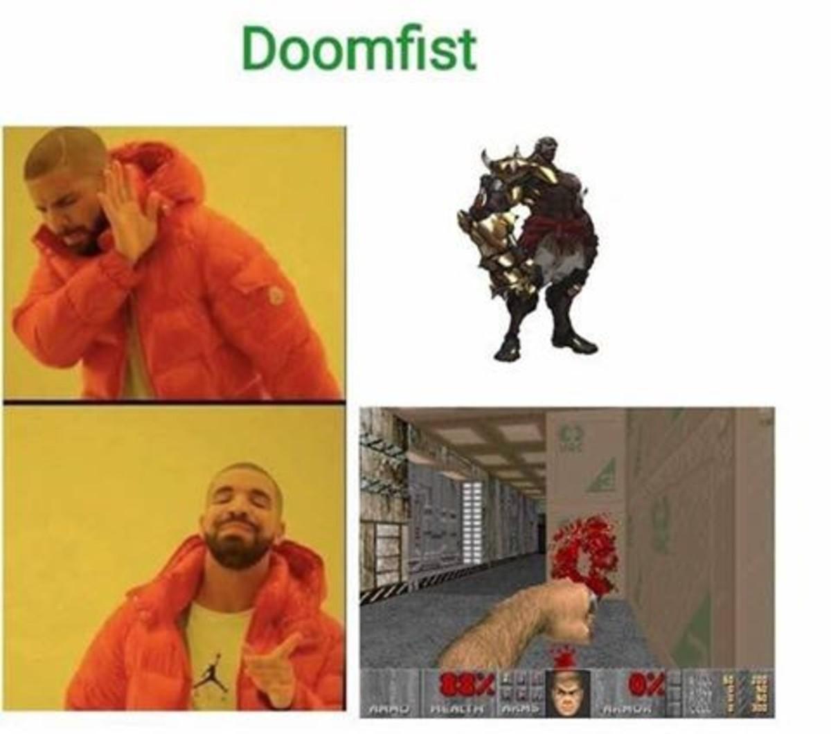 Doomfist. . Doomfist