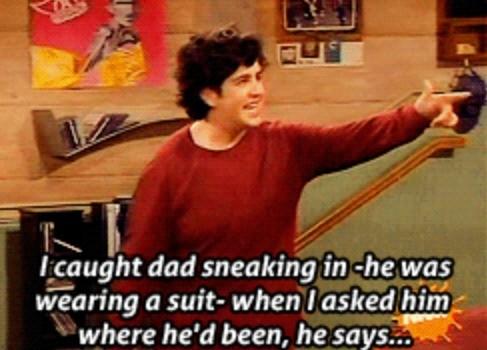 Drake & Josh think their dad is cheating. . Drake & Josh think their dad is cheating