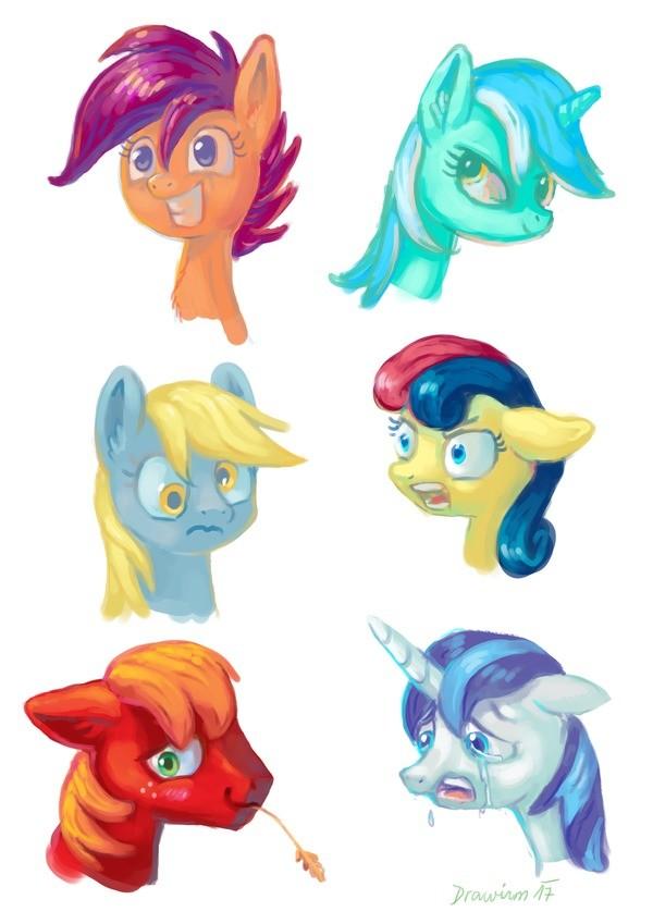 Horse speed paint. drawirm.deviantart.com/art/Pony-heads.... Horse speed paint drawirm deviantart com/art/Pony-heads
