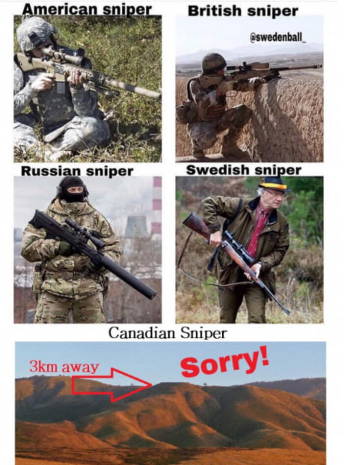 Leafs for the win. . British sniper. obligatory finnish sniper Leafs for the win British sniper obligatory finnish