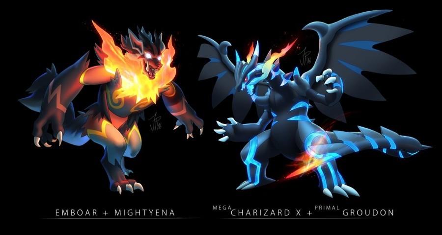"""Pokémon Fusion. syntheticimagination.tumblr.com/. Emf) C) ARW MIGHTYENA '""""""""'""""""""' GROUDON Pokémon Fusion syntheticimagination tumblr com/ Emf) C) ARW MIGHTYENA '""""""""'""""""""' GROUDON"""