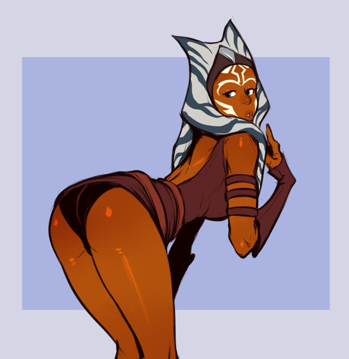 Tano. .. Orange booty best Jedi booty. Tano Orange booty best Jedi