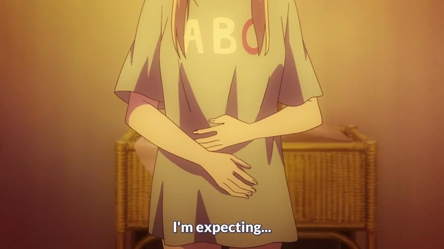 There's a bun in the oven. Sakurasou no Pet na Kanojo. sakurasou Anime