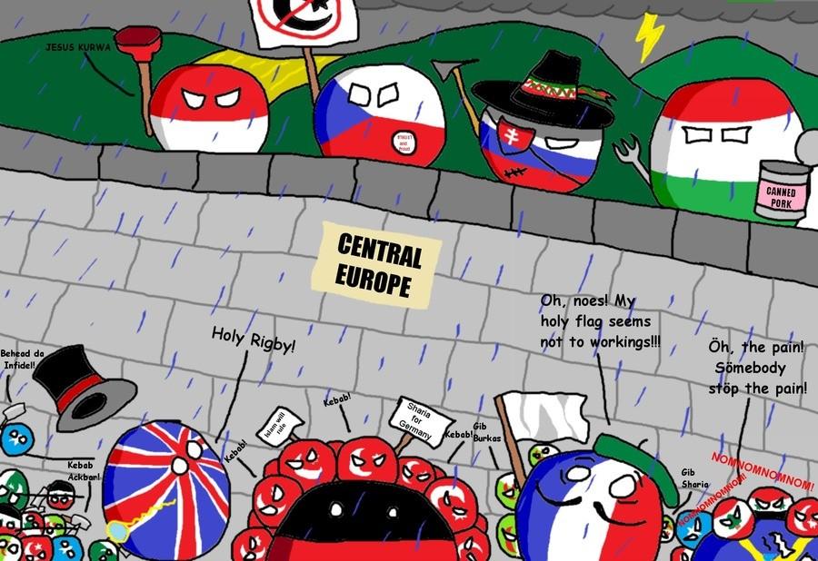 This is still relevant. .. Sömeone stöp the päin Polandball V4