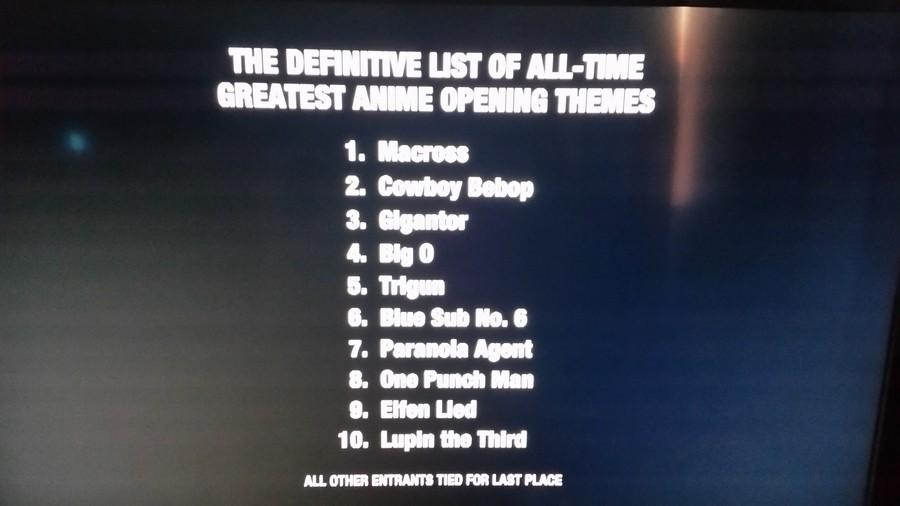 Toonami's Top 10. .. OPM's opening is pretty epic toonami america Anime