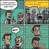Anime meme page