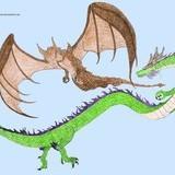 Asian Dragon vs European Dragon