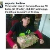 $50 of Venezuelan money