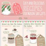 20 Mason Jar Food Gift Ideas