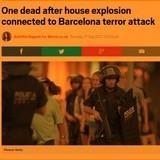 Breaking Update: Explosion in Spain